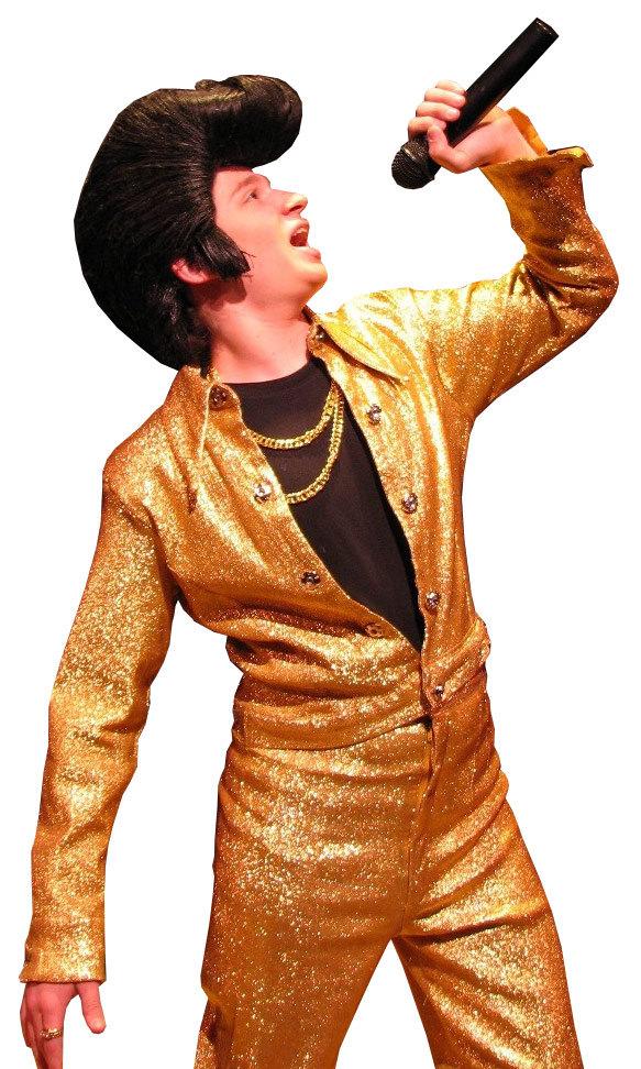 Conradu0027s Gold Costume  sc 1 st  Costume World Theatrical & Bye Bye Birdie Plot u0026 Costume Rental - Costume World Theatrical